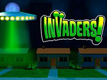 Автомат Invaders на зеркале Фараон
