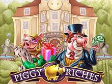 Piggy Riches на зеркале Фараон